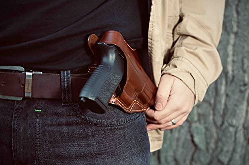 Falco Cross Draw Leather Holster for CZ 75, 75B, 85, 85B
