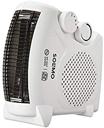 Amazon Brand - Solimo 2000-Watt Room Heater (ISI certified, White colour, Ideal for small to medium room/area),Solimo,SOLRH2019001