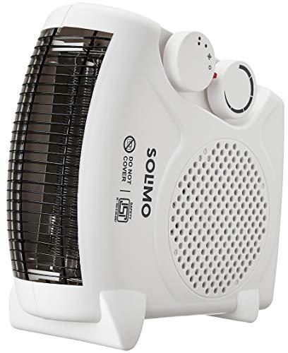 Amazon Brand - Solimo 2000-Watt Room Heater (White, Ideal for small to medium room/area)