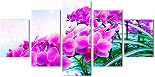Murals Wall art painting HD micro spray home living room bedroom decorative painting five without wall flowers