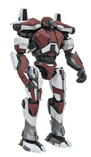 DIAMOND SELECT TOYS Pacific Rim Uprising: Guardian Bravo Select Action Figure,Multi-colored,8 inches
