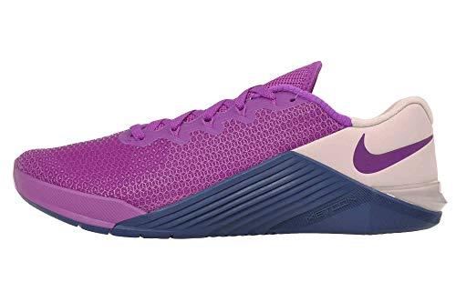 Nike Women's Metcon 5 Training Shoes (Vivid Purple, Numeric_8)