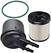 FLYPIG New 5 Micron FD4615 Fuel Filters Kit For 2011-2016 Ford F-250 F-350 F-450 F-550 Super Duty 6.7L V8 Duramax Diesel Engines Powerstroke BC3Z-9N184-B