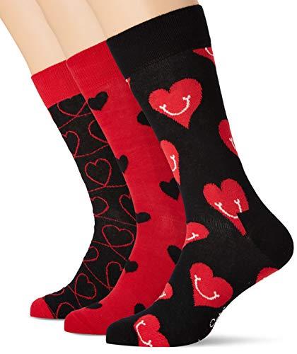 Happy Sokken mannen Ik hou van je Gift Box Sokken (Pack van 3)