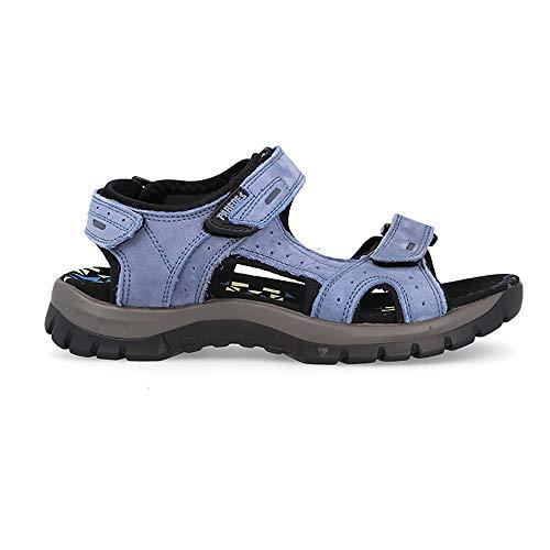 Sandalia Soft Azul Paredes Parana - Velcro - Talla 39