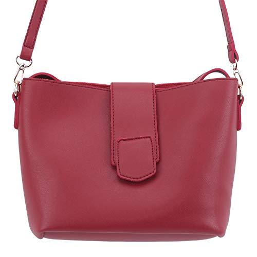 LWANFEI Small Crossbody Bag Purse Wallet Mini Shoulder Bag Adjustable Strap for Women,Red Wine