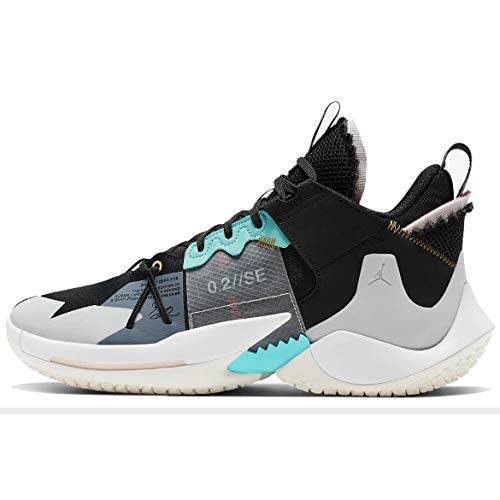 Nike Men's Basketball Shoes , Multicolour Black Vast Grey White Sail , 8.5 US