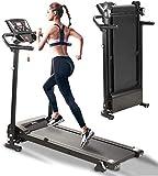 AceTT Folding Treadmills for Home Office & Gym | 2.5HP Heavy Duty Electric Treadmills Foldable Electric Walking Machine w/Bluetooth & LCD Display Screen | 500 LB