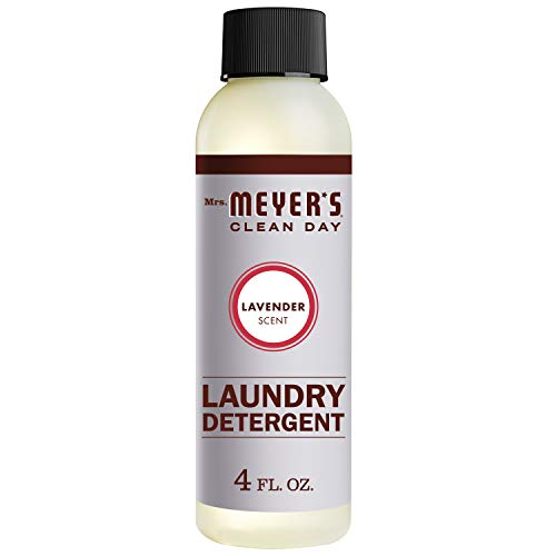 Mrs. Meyer's Clean Day Laundry Detergent, Lavender Scent, 4 ounce Trial Size