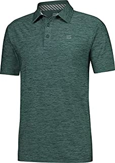 Jolt Gear Golf Shirts for Men - Dry Fit Short-Sleeve Polo, Athletic Casual Collared T-Shirt