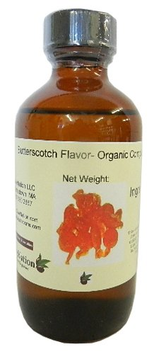 OliveNation Premium Butterscotch Flavoring, TTB-Approved for Brewing, Natural Rich Flavor for Baked Goods, Brewing, Beverages, Sauces, PG Free, Non-GMO, Gluten Free, Kosher, Vegan -8 ounces