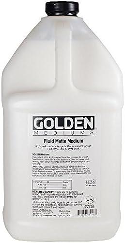 Golden   Fluid Matte Medium   3.78Litre