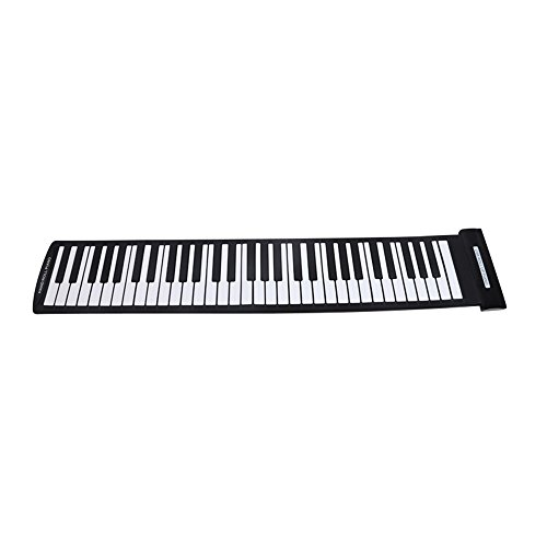 Andoer® Portátil 61 Claves Roll-Up Piano Flexible USB MIDI Keyboard Electrónico Piano...
