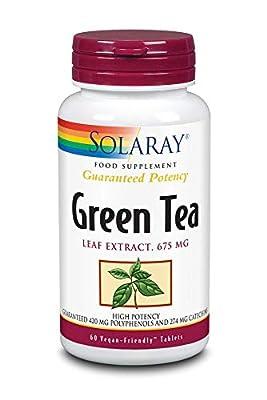 Solaray Green Tea 675 mg | 60 Tablets