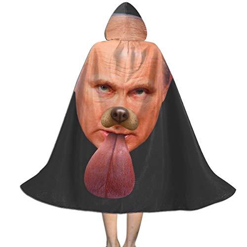 NUJSHF Vladimir Putin - Capa con capucha para perro Snapchat con filtro unisex para nios, para Halloween, Navidad, fiestas, disfraces, ropa exterior