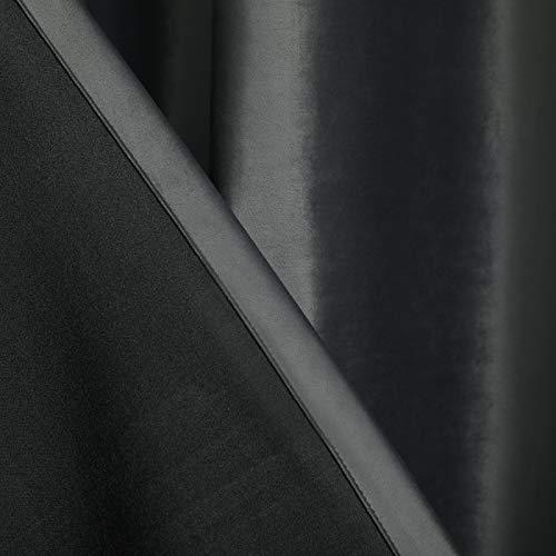 Bolo Cortina de ducha para el hogar, cortina de baño impermeable, cortina de ducha de fibra de poliéster superancha y súper larga, 132 x 213 cm