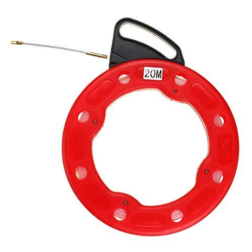 Landa tianrui Bricolaje y Herramientas 4mm Fish Tape Puller Wire 20 Metros Cinta de Nylon Flexible Nylon Conducto Tirar Cable de Fibra de Vidrio Cable de Peces