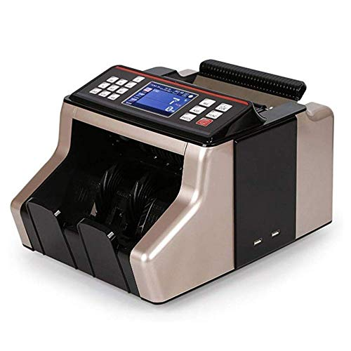 SMLZV Denaro fatture Conta Macchina - Veloce, Facile da Usare banco Cassa Grade Bank - Funzioni Counterfeit Detection Intelligent Voice UV contraffazione Bill Detector