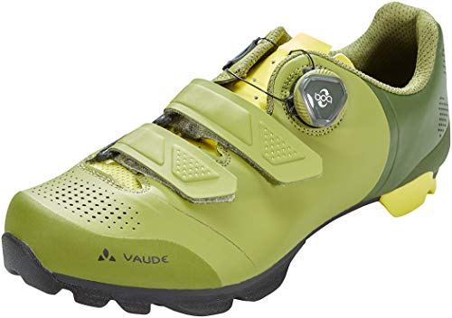 VAUDE Unisex MTB Snar Advanced Fahrradschuhe, Holly Green, 47 EU