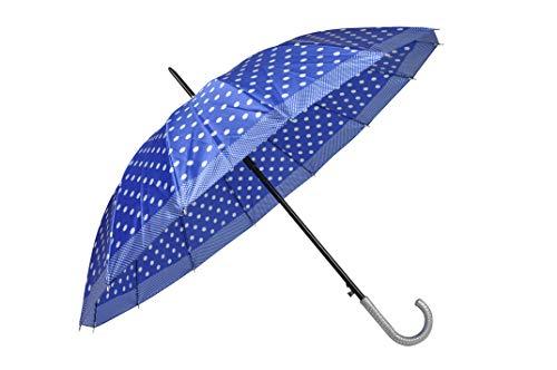 Guarda-Chuva, Adulto, Poliéster, Azul