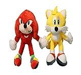 Juguetes de muñeca 2 unids/lote Sonic Boom Plush Cartoon PP Cotton Sonic Soft Blue Plush para niños Regalos de cumpleaños Envío gratis