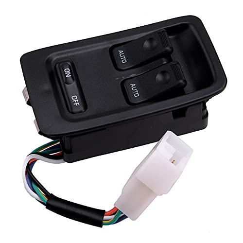 CMEI Interruptor de control delantero izquierdo FD14-66-350C para Mazda RX7 1993 1994 1995 1996 1997 1998 1999 2000 2001 2002