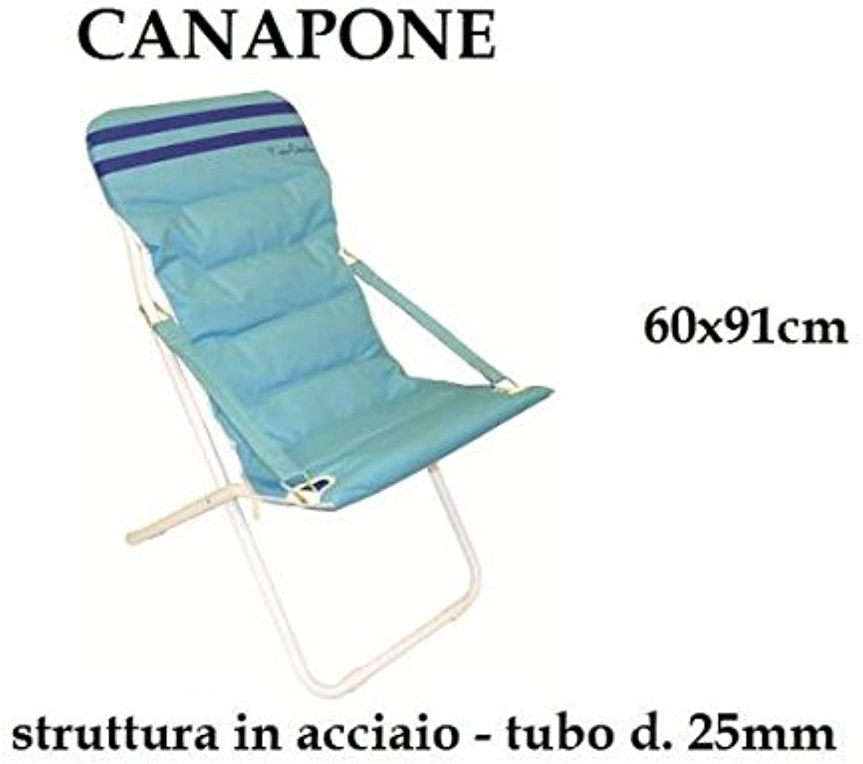 marca famosa C&C Cuna Relax abbronzante Cuna 60x 91Jugara Spiaggina Relax Relax Relax de acero prc601  ventas al por mayor