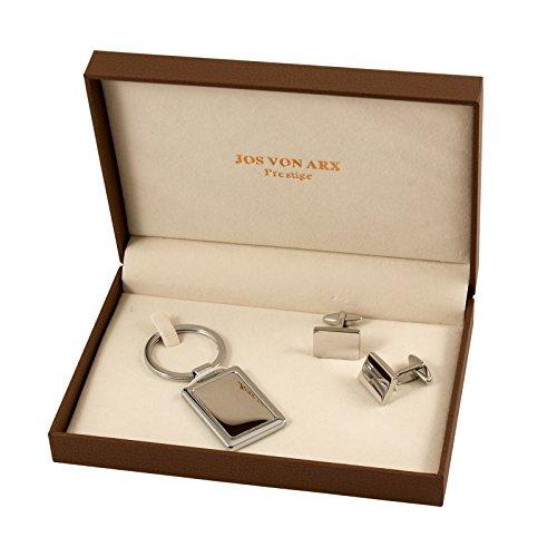 Jos Von Arx Cuff-links and Engravable Key Ring