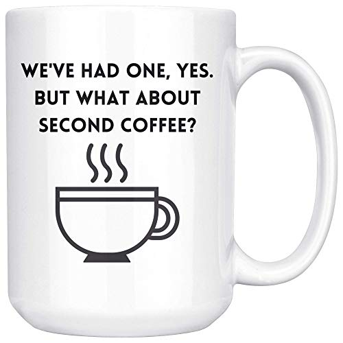 LOTR Themed Coffee Mug, What About Second Coffee Quote Cup, Second Breakfast Tea Cup, Lord of The Rings Lover Gift