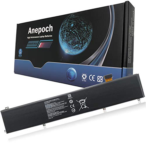 Anepoch RC30-0248 Laptop Battery Replacement for Razer Blade Advanced RZ09-02386 RZ09-02486 RZ09-02385 RZ09-02886 RZ09-02887 RZ09-02888 RZ09-03017 RZ09-03018 RZ09-03137 Series 15.4V 80Wh 5209mAh