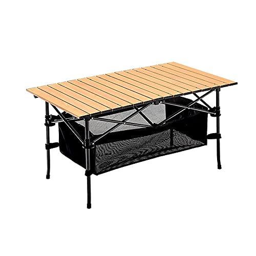 Mesa Plegable para jardín, Mesa de Picnic para hostelería para Acampar al...