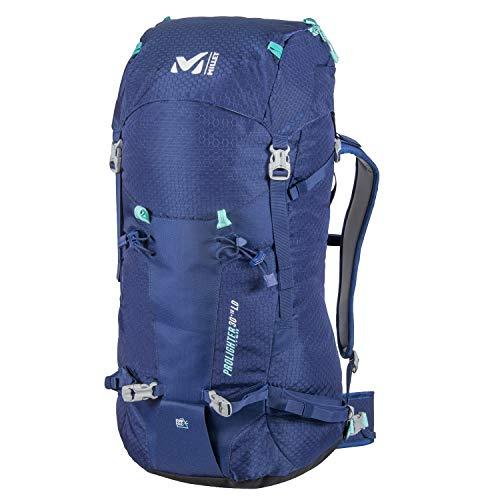 MILLET - Prolighter 30+10 - Damen-Rucksack für Bergsteigen und Langlauf - Erweiterbares Volumen 30+10 L - Blau