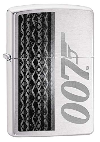 Zippo Classic Lighter-James Bond 007 Feuerzeug, Messing, Individual Design, Original Pocketsize