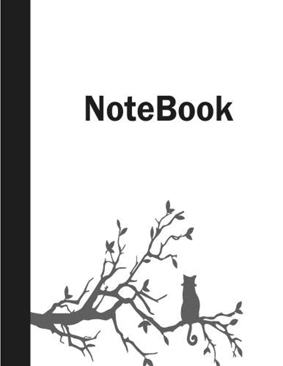 Notebook: Unlined/Unrules Notebook - Large (8 x 11 inches) 100 Pages ? White Paper Matte Cover [並行輸入品]