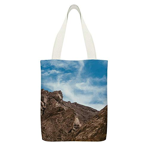 Tote Bag For Women Shoulder Bag Travel Beach Bag Large Summer Handbag Purse With Zipper Grand Canyon White Cloud Blue Sky Bag Tote Honeymoon Gift