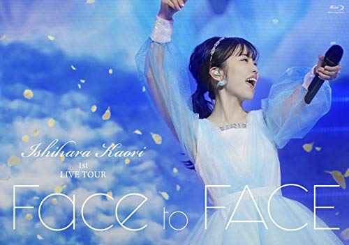 【Amazon.co.jp限定】石原夏織 1st LIVE TOUR「Face to FACE」Blu-ray(AR動画付き チケットファイル付)