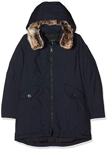 TAIFUN by Gerry Weber Damen Outerwear 5 Jacke, Blau (Deep Blue Melange 806400), 40