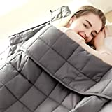 """Fabula Life Adult Weighted Blanket(15lbs, 72""""x48"""", Full Size) for People Weigh Around 140lbs