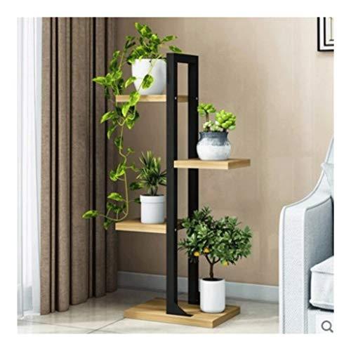 MRZZ 4-tier Bloemenrek Houten Uitneembare Multi-Layer Plant Stand Display Rekken Balkon Decoratie Bloemenstandaard Tuin Outdoor Multifunctionele Opslag Rack