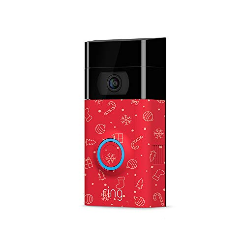 Price comparison product image Holiday Faceplate for Ring Video Doorbell 2 - Ornaments