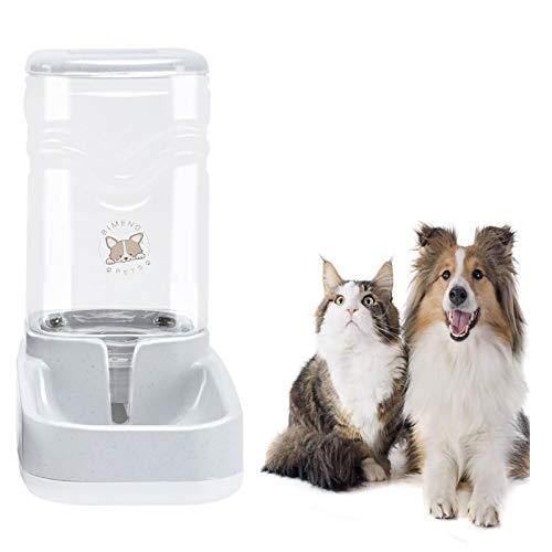 Old Tjikko Haustier Automatischer Wasserspender, Wasserspender für Hunde Katze, Automatischer Trinkbrunnen, Haustier Trinkflasche Tierzubehör für Hunde Katzen,3.8 Liter,PBA frei(Wasserspender)