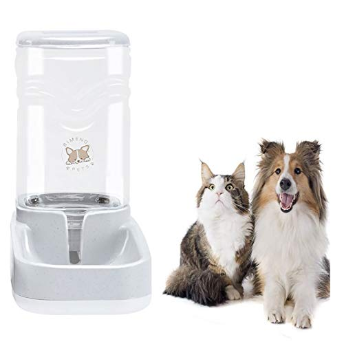 Old Tjikko Pet Water Dispenser,Cat Water Bowl,Dog Water Bowl Automatic,Large Automatic Drinking Fountain for Cat Dog,3.8L(1 Gallon) Pet Waterer