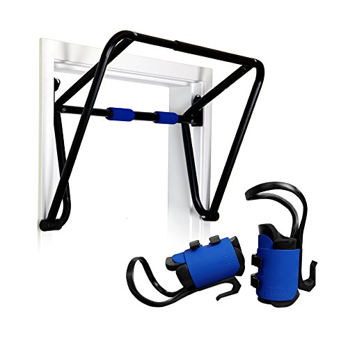 Teeter EZ Up Inversion and Chin Up System with Rack Gravity Boots and Healthy Back DVD