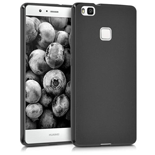 kwmobile Hülle kompatibel mit Huawei P9 Lite - Handyhülle - Handy Case in Schwarz matt