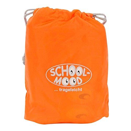 School-Mood Zubehör Regenschutz orange