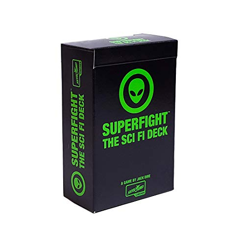 Superfight Sci-Fi Deck : 100 More Cards for The Game of Absurd Arguments, for Kids, Teens Adults, 3 or More Players, Ages 8 and Up