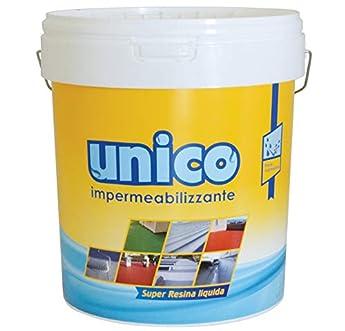 Foto di ICOBIT Unico - Super resina liquida impermeabilizzante, Bianco, 10 kg