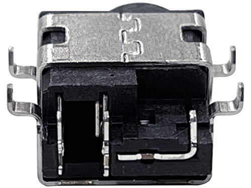 HT ImEx - Conector de alimentación hembra de alimentación DC Jack compatible con Samsung NP-R528, NP-R530, NP-R538, NP-R540, NP-R580, NP-R710, NP-R730, NP-R780.