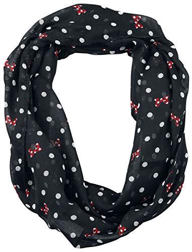 Micky Maus Minnie Maus - Dots & Bows Frauen Tuch schwarz one Size