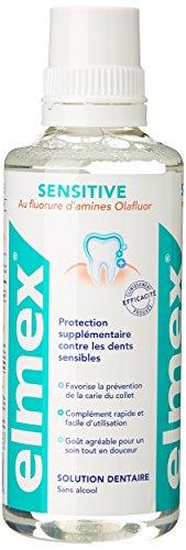 Elmex Solution dentaire au fluorure d'amines olafluor - La bouteille de 400ml